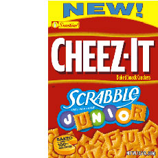 Cheez-It Scrabble Junior