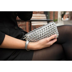Puff Compact Wristlet