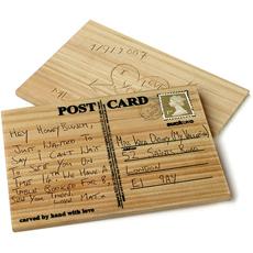 Wooden Postcard by Suck UK