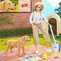barbie-tanner-pooping-dog