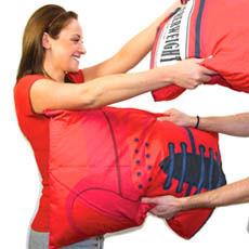 Punching Glove Pillow Fight