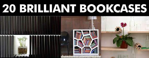 unusual bookcase plans