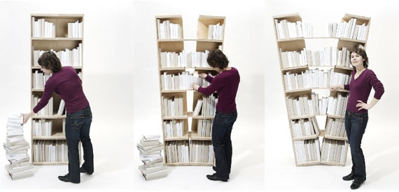 Cool Home Bookcases 20 Brilliant Bookcase Designs
