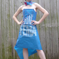 FEMA Tarp Dress