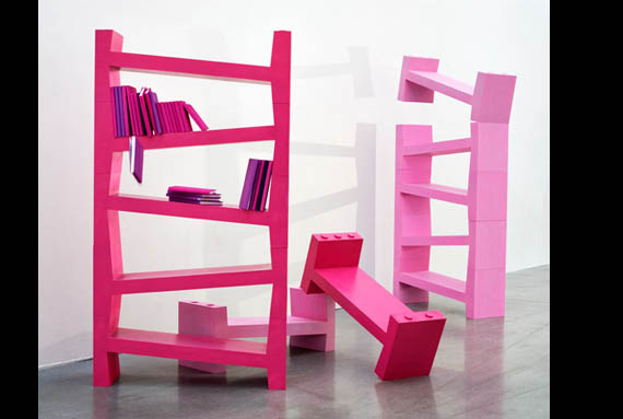 Unique Book Case cool home bookcases - 20 brilliant bookcase designs
