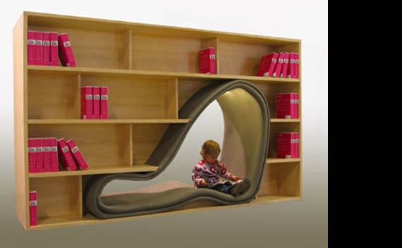 Cool Home Bookcases - 20 Brilliant Bookcase Designs | Incredible ...