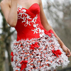 Chocolate Lindor Dress