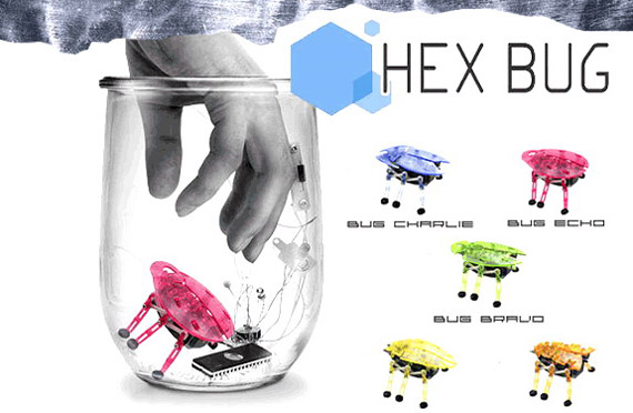 Hex Bug Robot Cockroaches