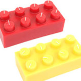 Outdoor Lego Candle