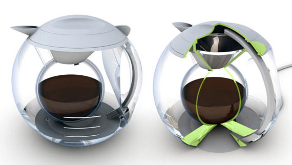 cool coffee pot cocoon coffee pot