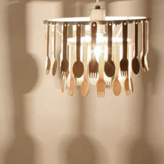 Cutlery light fixture