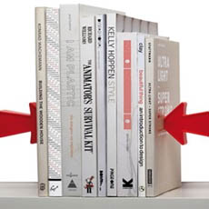 Magnetic Bookends Arrows