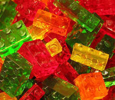 LeGummies Lego Brick Gummy Candies