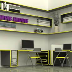 Yuppie Hippie Single Line Furniture