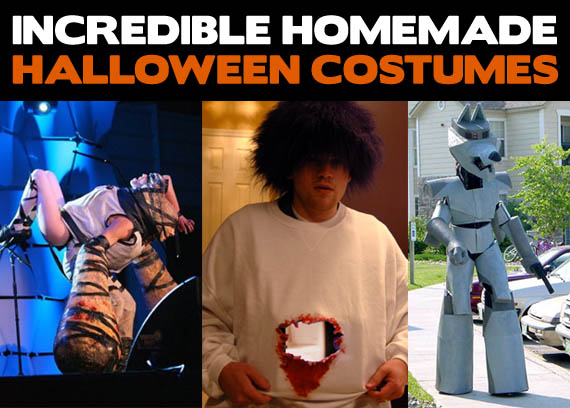 Incredible Homemade Halloween Costumes | Incredible Things