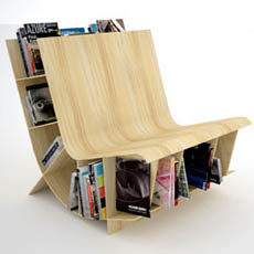 Creative Library Chair Incredible Things