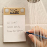 AquaNotes Waterproof Shower Notepads
