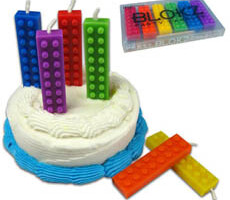 Blockz Birthday Candles