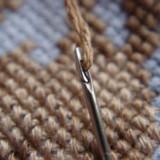Spiral Eye Sewing Needle