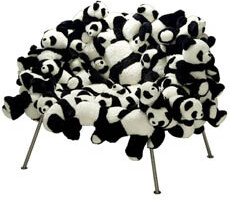 Chair with Pandas