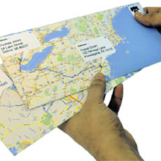 Google Maps Envelopes