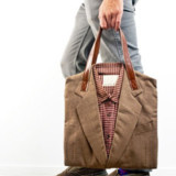 Joe Recycled Suit Tote