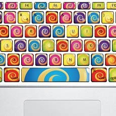 Color Keyboard Stickers