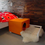 Hunde Hus Indoor Dog House/Bedside Table
