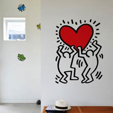 Spectacular Keith Haring Wall Decals