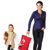 Mother Child Tote Shopping Bag
