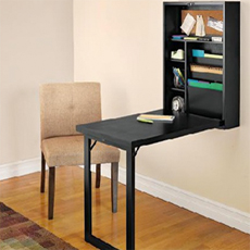 Fold Out Convertible Desk