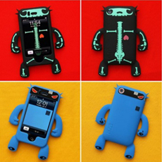 Robotector Action Figure for iPhone