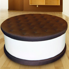 Jellio Ice Cream Cookie Ottoman
