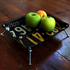 License Plate Bowls
