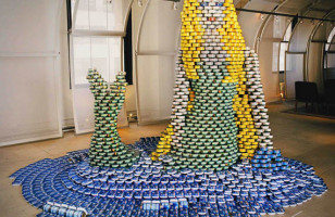 Canstruction: One Can Make a Difference to Fight Hunger