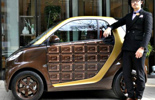 Chocolate Smart Car, Smarter Move Than Candy