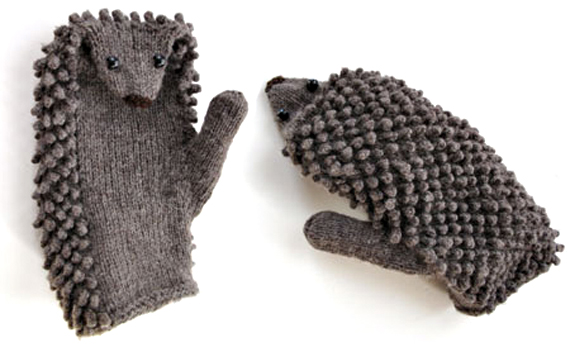Knitting Pattern Hedgehog Mittens : Make Your Own Hedgehog Mittens Incredible Things