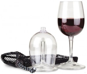 Drinking in Public is Classy with Packable Travel Wine Glasses