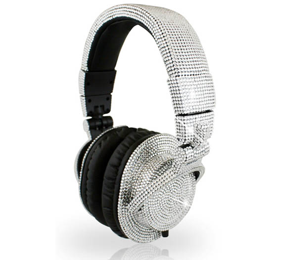Swarovski DJ Headphones Are Louder than the Music You're Playing