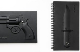 Taking Notes is Boring Unless You Have an Armed Notebook