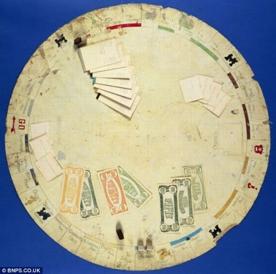 The Earliest Version of Monopoly