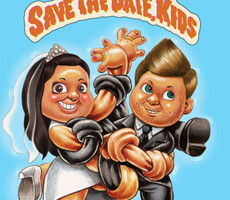 Coolest Save The Date – Garbage Pail Kids