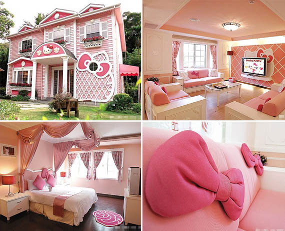 Hello Kitty Mansion Hello Kitty House Dream Vacation For Happy Kids And Sad  Adults .