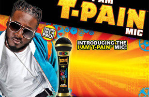 Become a Hip Hop Superstar with the I Am T-Pain Mic