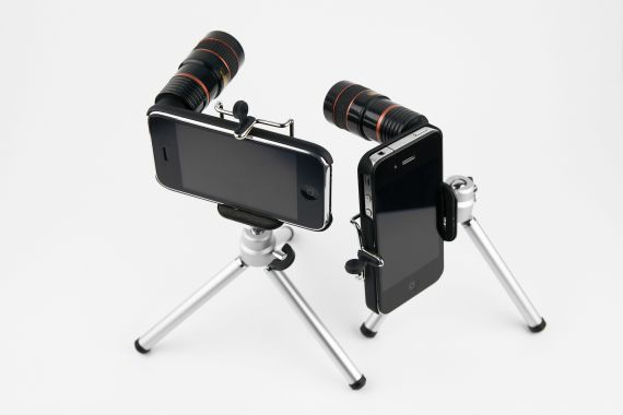 Stalkers Rejoice! The iPhone Telephoto Lens is Here!