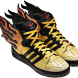 Adidas Shoes on Fire