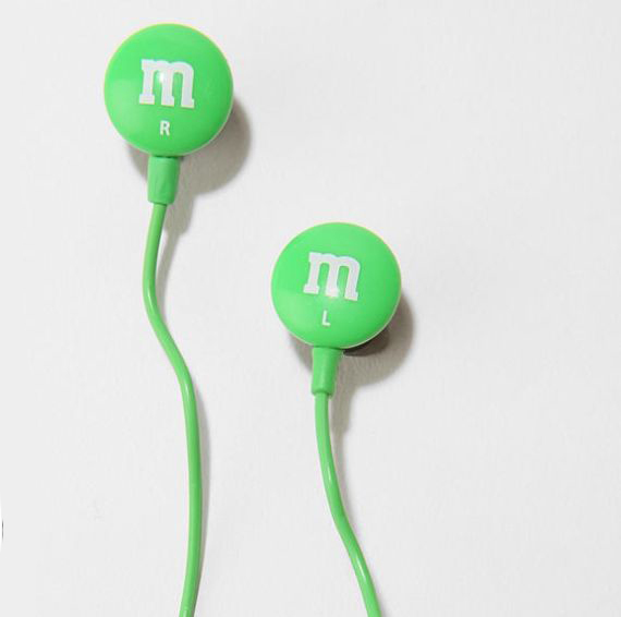 M&M Headphones Fill Your Ears With Sweet Sound