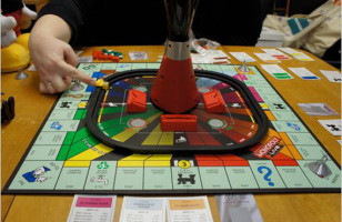 Play Monopoly Tower of Power with Big Brother
