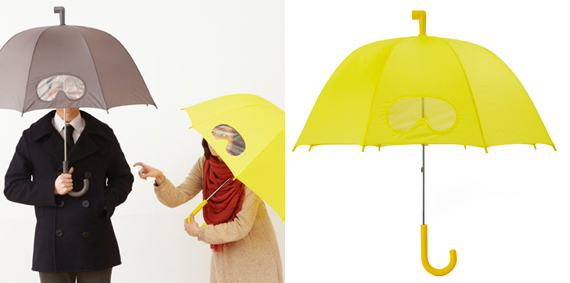 Umbrella With Goggles – Stay Dry, Stay Upright