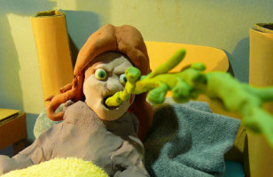 Cult Films Remade With Clay
